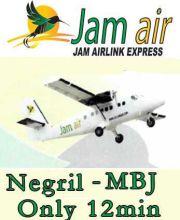 Fly Jam Air Negril - MBJ