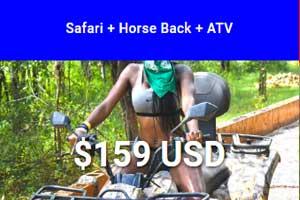 Safari  Horseback  ATV