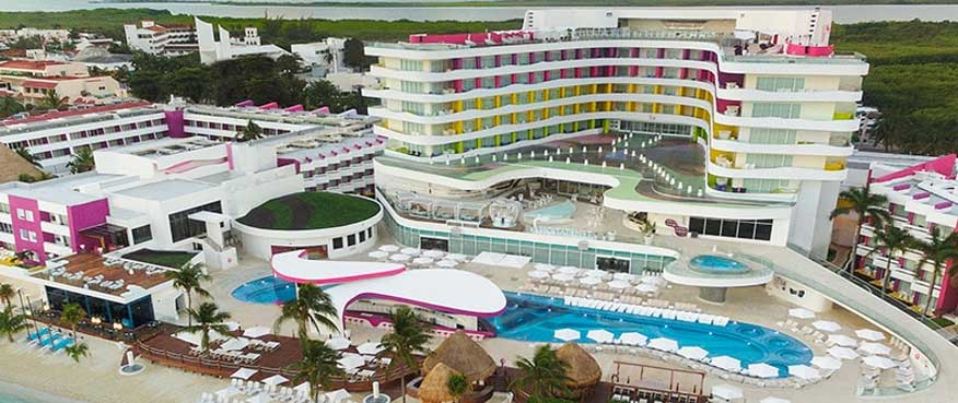 """Playground for Grown-Ups"" Temptation Cancun Resort"